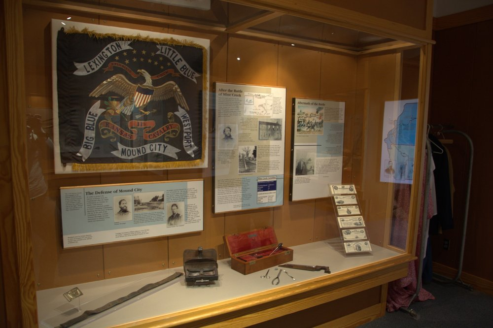 Mine Creek Civil War Battlefield State Historic Site: 20485 Kansas 52 Scenic, Pleasanton, KS