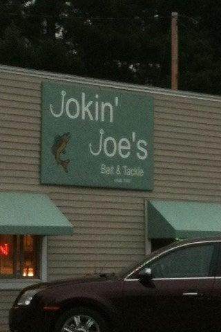 Jokin'joe's Bait & Tackle: 1674 Superior St, Three Lakes, WI