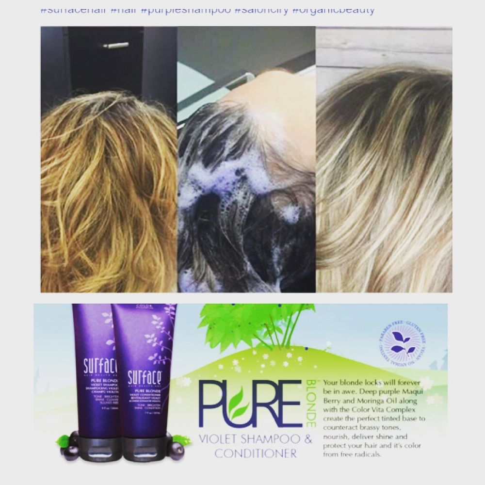 Try New Surface Pure Blonde Shampoo Conditioner Yelp