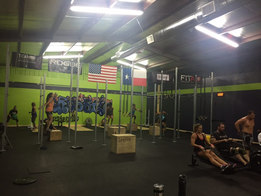 Social Spots from CrossFit Stephenville