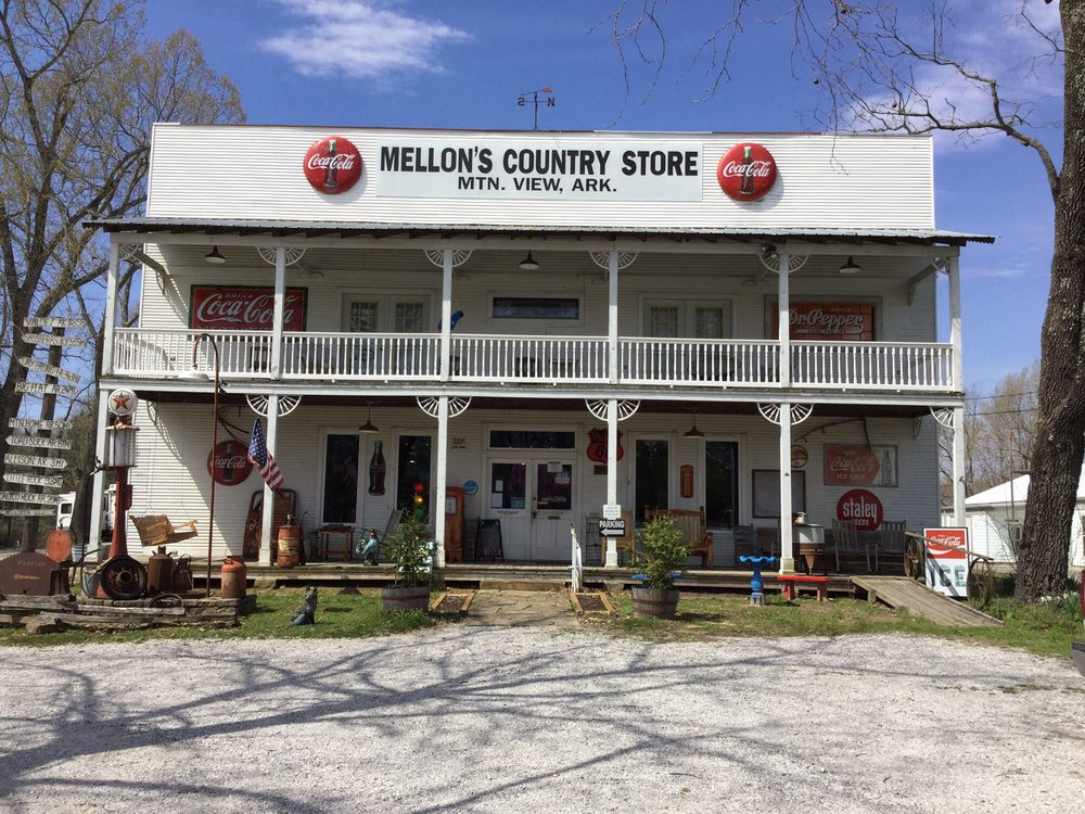 Mellon's Country Store: 19735 Highway 5 North, Mountain View, AR
