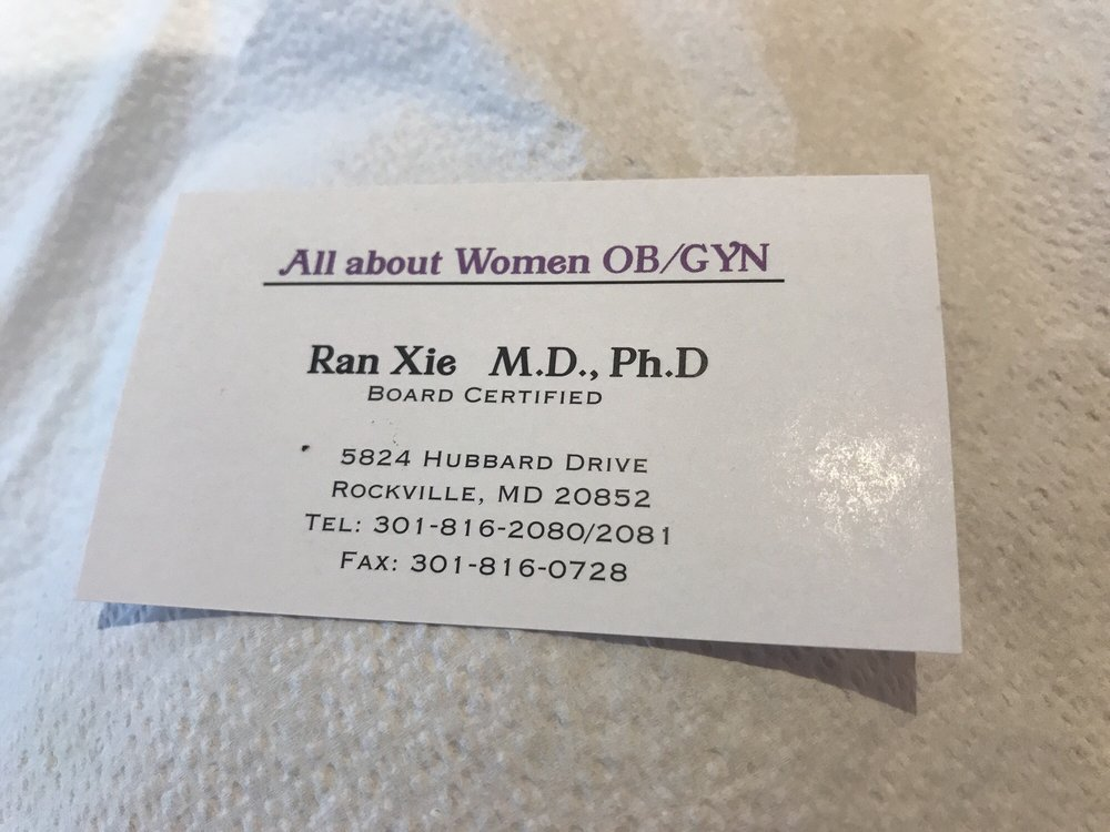 All About Women Ob Gyn Obstetricians Gynecologists 121 Congressional Ln Rockville Md