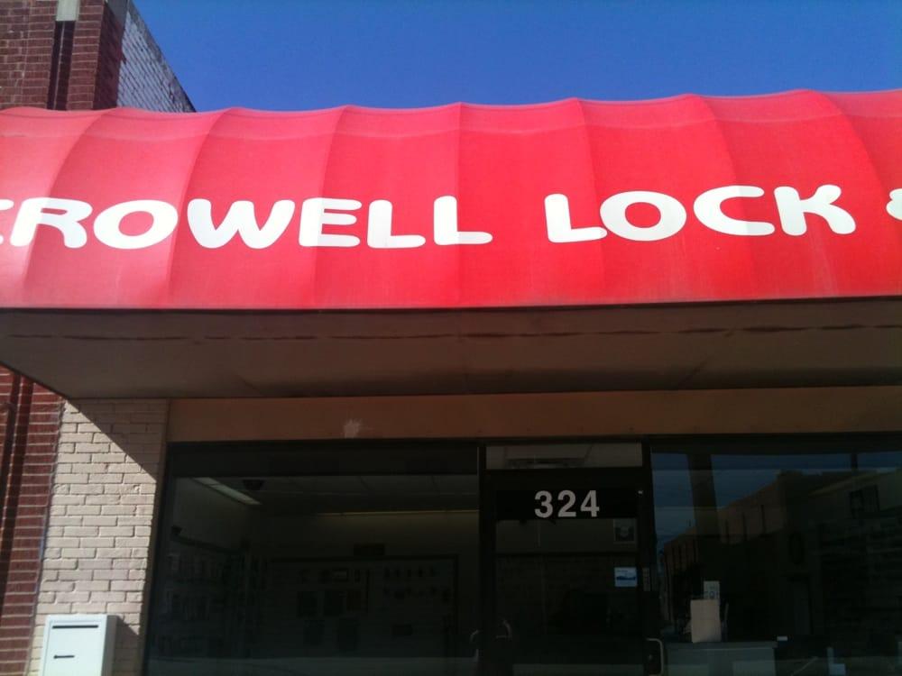 Crowell Lock & Safe Service: 324 E Main St, Ada, OK