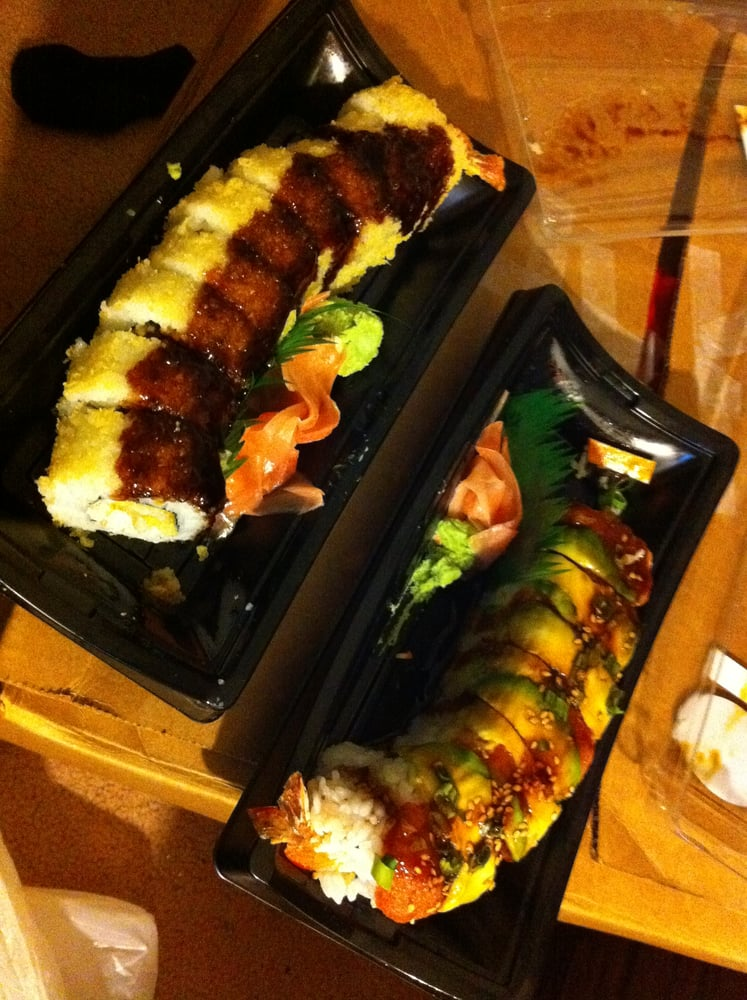 Left Is Crunch Roll Which I Got For Free And Big Roll