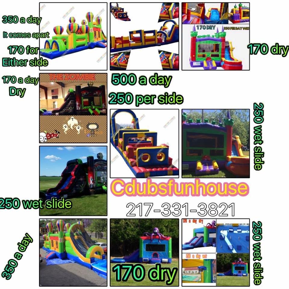 Cdubs Funhouse: 204 Mayden, Springfield, IL