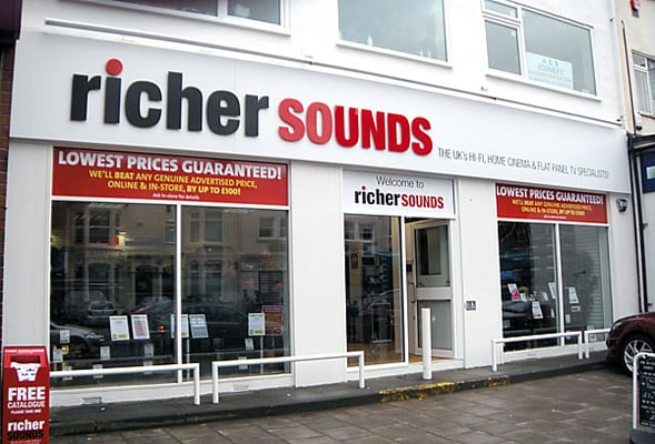 richer sounds The biggest brands, best prices and expert advice in sound and vision.
