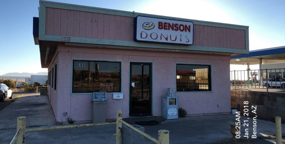 Benson Donuts: 690 N Ocotillo Rd, Benson, AZ