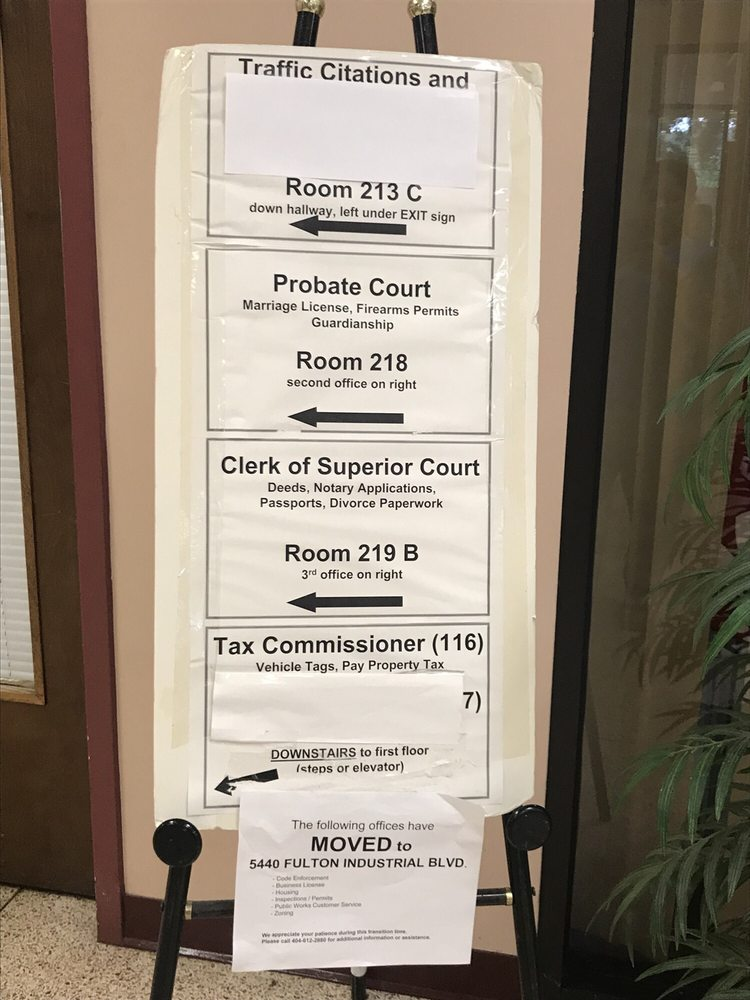 fulton county clerk of superior court - Courthouses - 5600