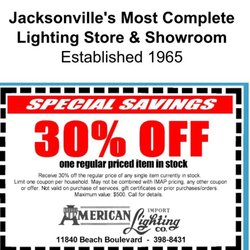 Photo Of American Import Lighting Jacksonville Fl United States Use This Coupon