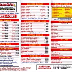 Sharks fish chicken 16 photos 12 reviews food for Sharks fish and chicken menu
