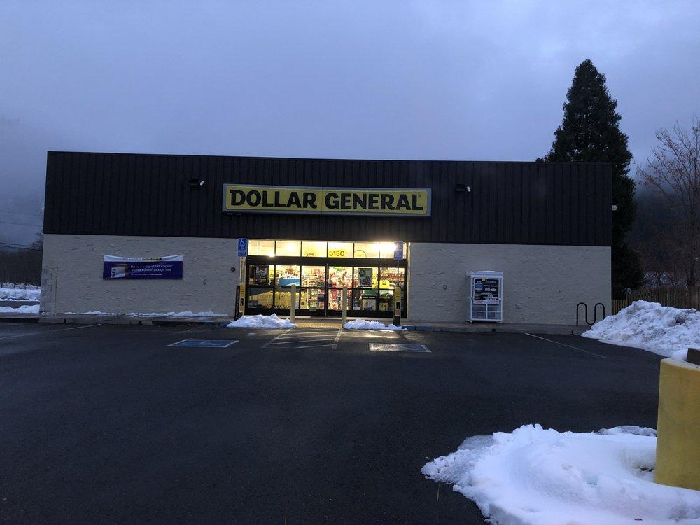 Dollar General: 5130 Florence Lp, Dunsmuir, CA