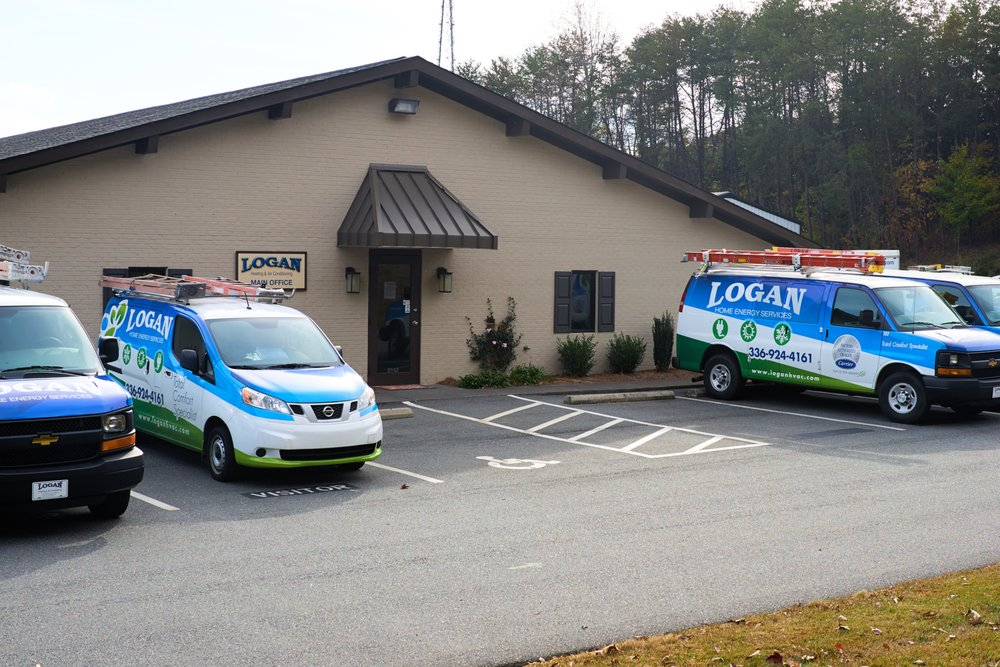 Logan Heating & Air Conditioning: 5142 N Causeway Rd, Winston Salem, NC