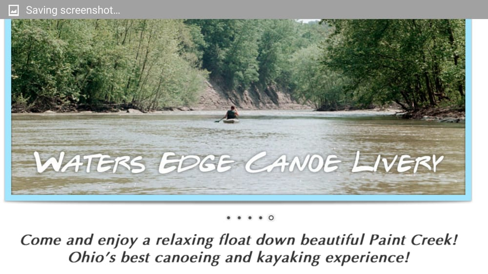 Waters Edge Canoe Livery: 10807 State Rt 772, Chillicothe, OH