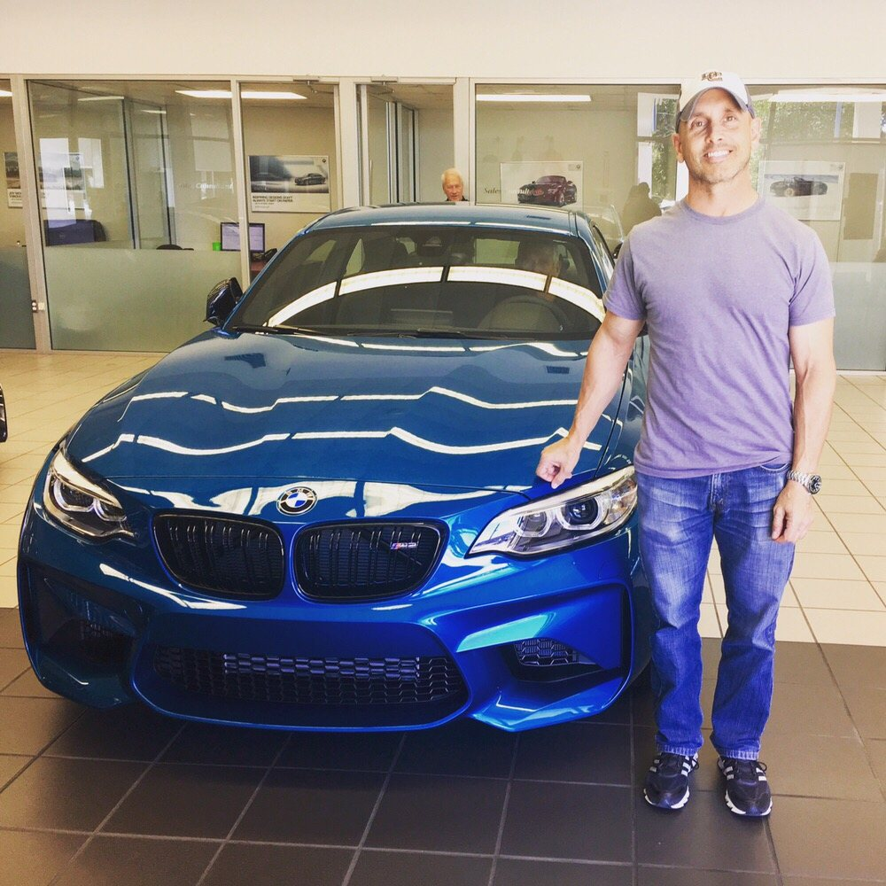 happy client with his bmw m2 in long beach blue yelp. Black Bedroom Furniture Sets. Home Design Ideas