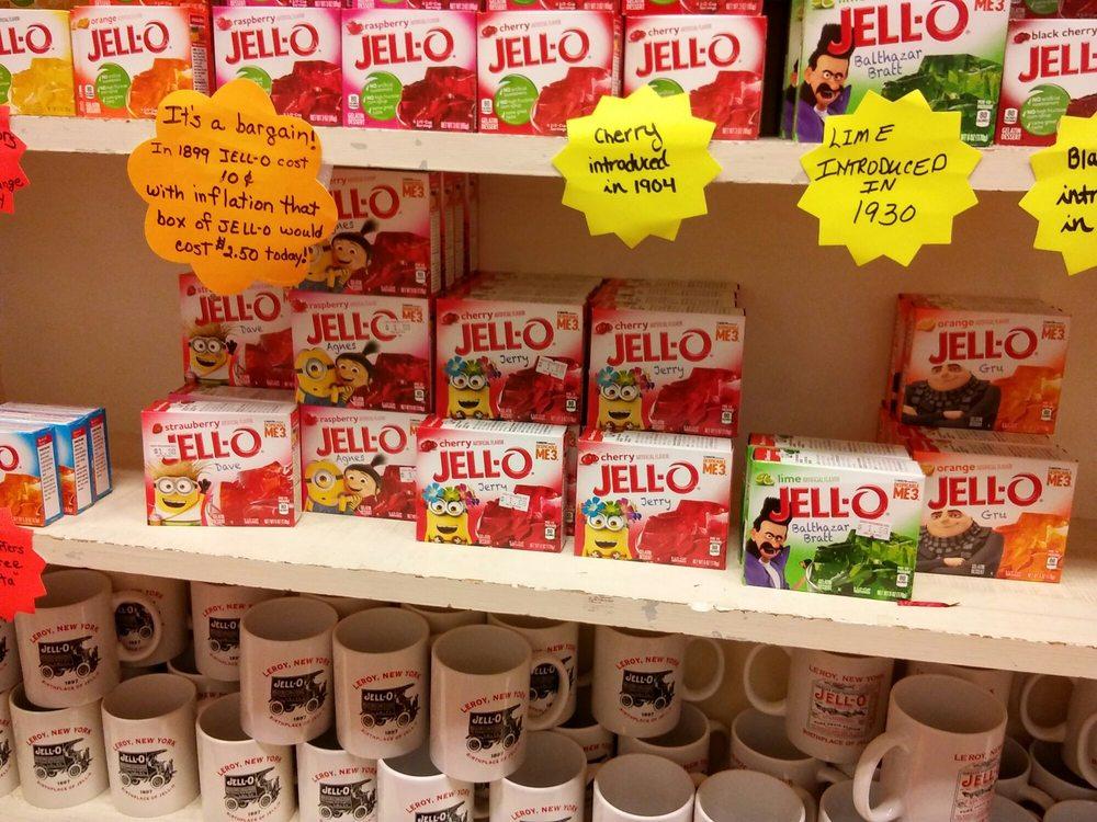 Jell-O Gallery: 23 E Main St, Le Roy, NY