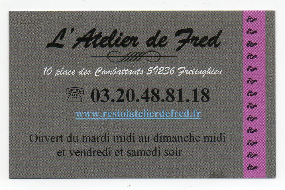 L'Atelier de Fred - Frelinghien
