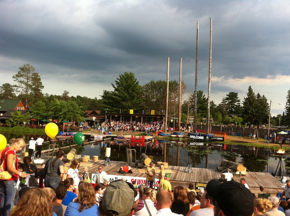 Lumberjack World Championships: 15670 W Cty Rd B, Hayward, WI