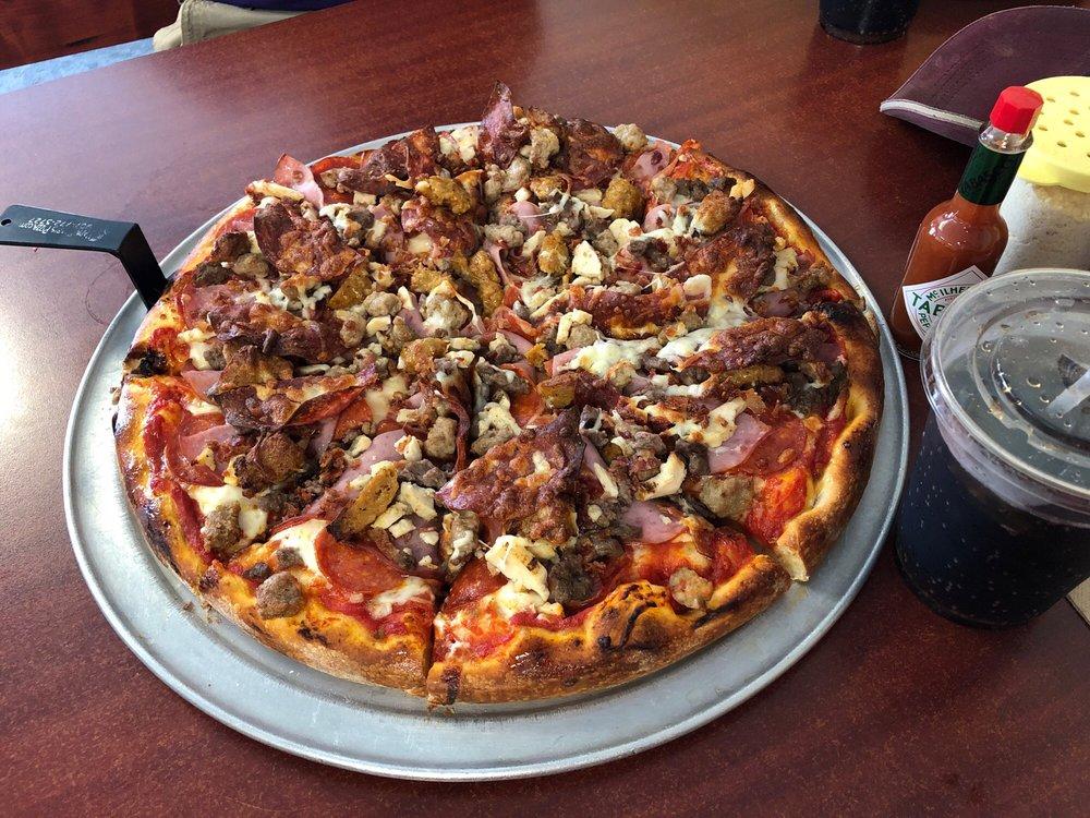 Papa Bear's Pizza: 219 N Nordic Dr, Petersburg, AK