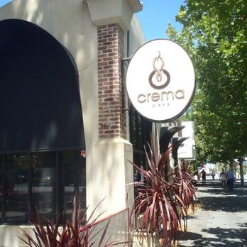 Crema Cafe West Perth Menu