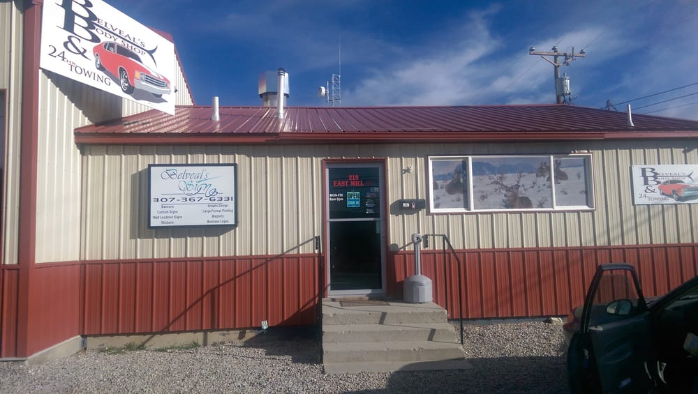 Belveal's Body Shop & Towing: 219 E Mill St, Pinedale, WY