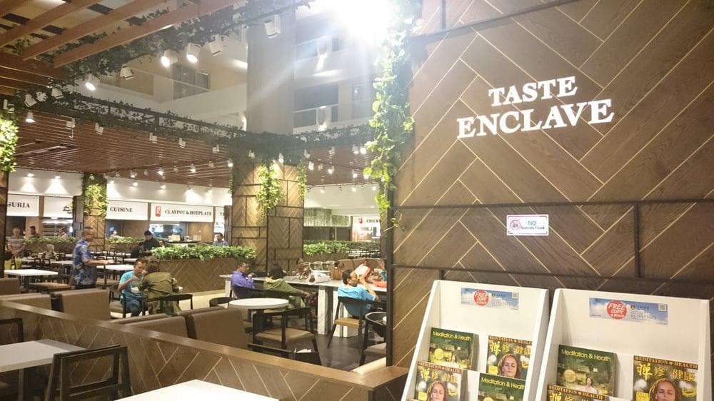 taste enclave cafeteria sunway pyramid tower hotel. Black Bedroom Furniture Sets. Home Design Ideas