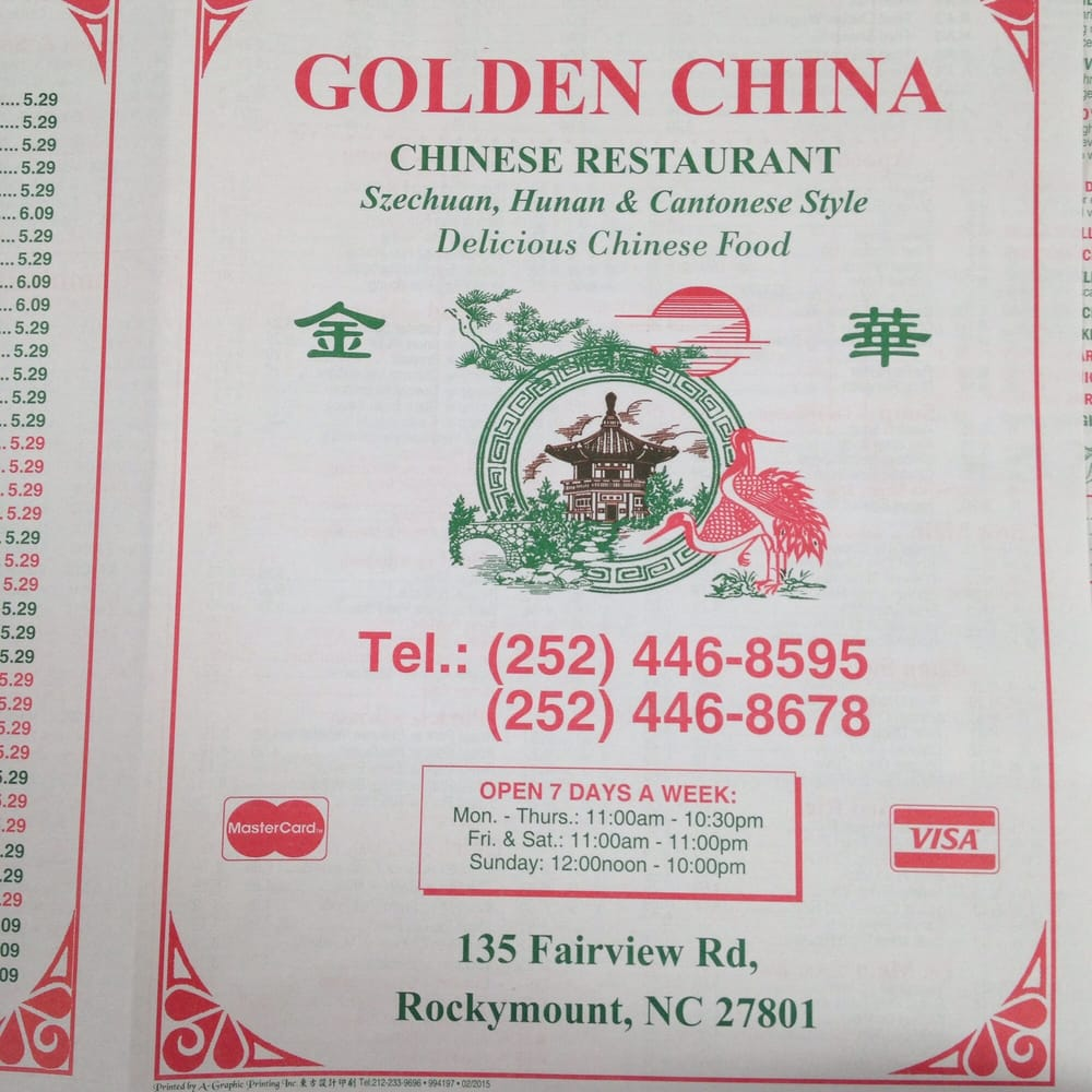 Chinese Restaurant Rocky Mount Nc
