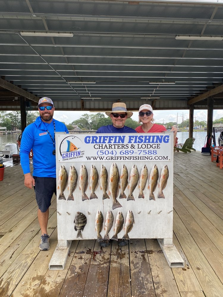 Griffin Fishing Charters and Lodge: 2629 Privateer Blvd, Barataria, LA