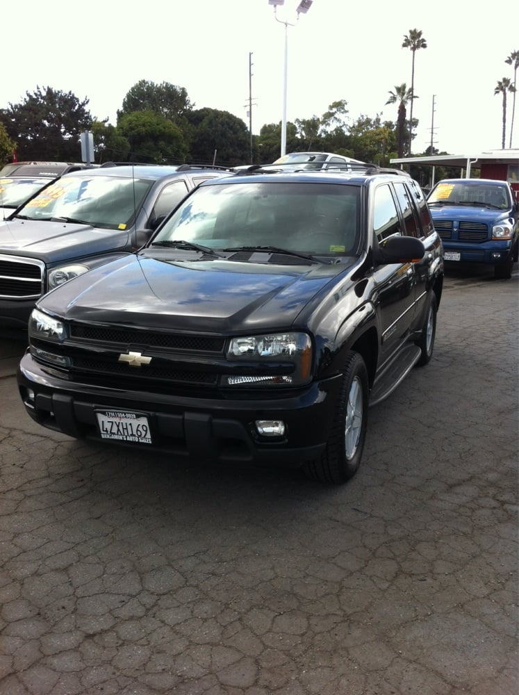 2003 chevy trailblazer sport leather 3rd row seat 101k miles very photo of benjamins auto sales santa ana ca united states 2003 chevy publicscrutiny Choice Image