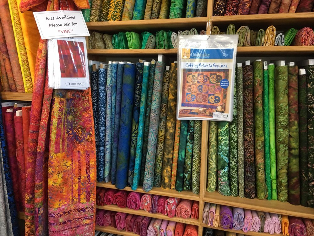 B J's Fabric and Quilts: 34365B Hwy 101 S, Cloverdale, OR