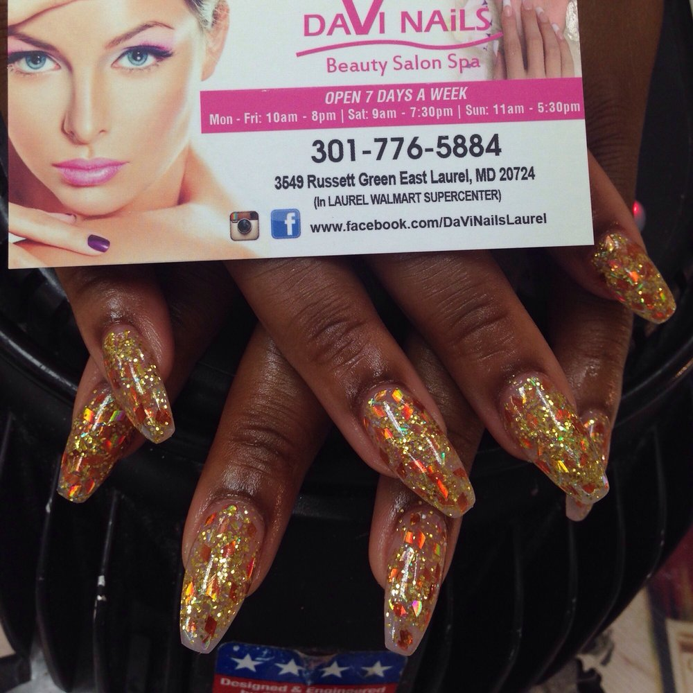 Color powder gel nails - Yelp