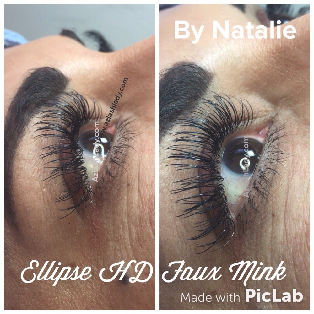 Mascara Look With Ellipse Lash Extensions Yelp