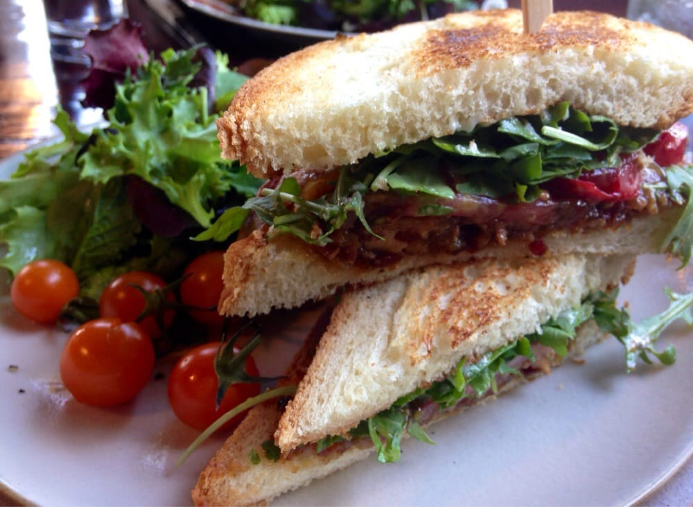 ... Wishbone - Petaluma, CA, United States. Bacon jam BLT. Really good
