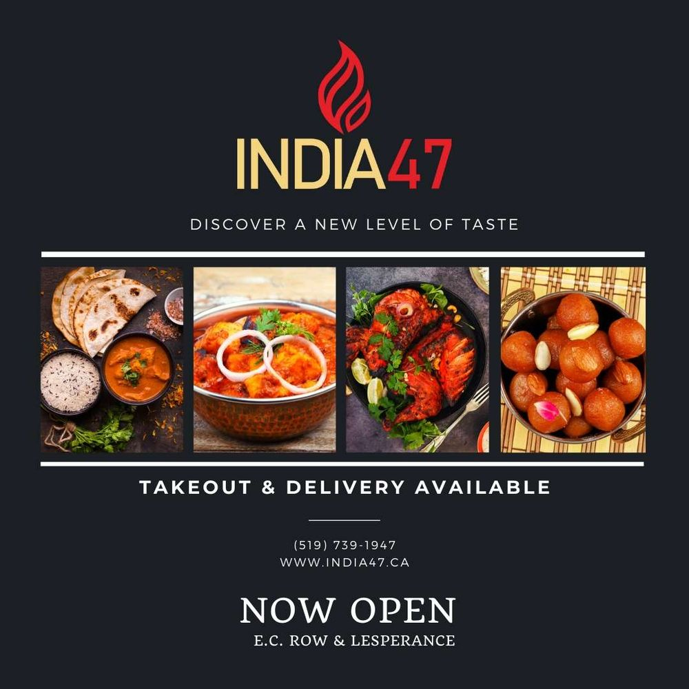 India 47: 1640 Lesperance Road, Windsor, ON
