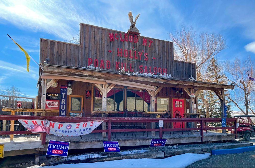 Holly's Road Kill Saloon: 1557 Main Boulder Rd, Mc Leod, MT