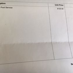 Photo Of No Green Pools Company Duarte Ca United States Bills