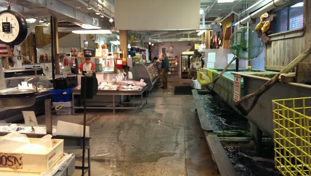 Photos for harbor fish market yelp for Fish market portland maine