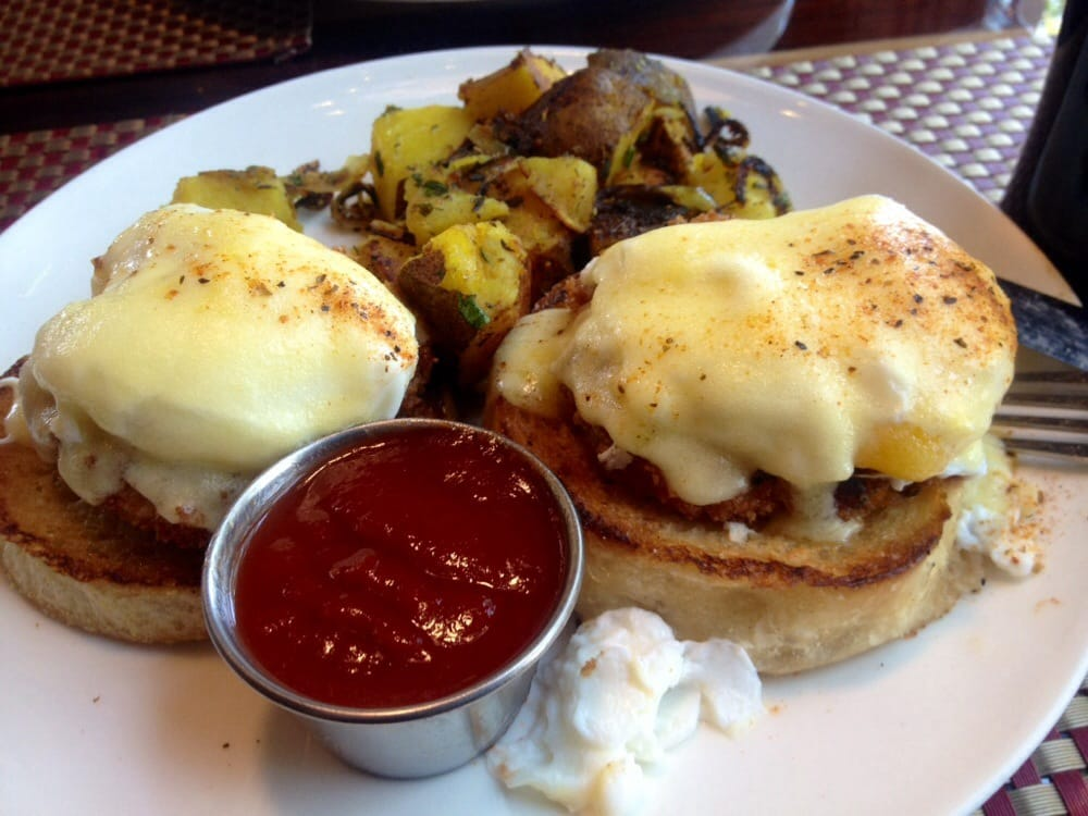 Crabcake benedict yelp for Elite food bar 325 east 48th street