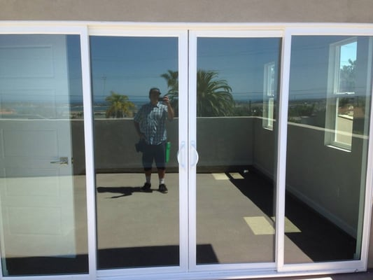 Photo Of Glass Curtain Window Cleaning   San Diego, CA, United States. Bay