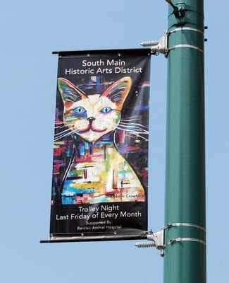 South Main Art Trolley Tour