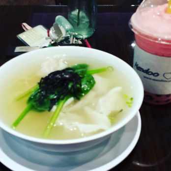 Superb Photo Of Mandoo Cafe   Tenafly, NJ, United States. Wonton Noodle Soup And