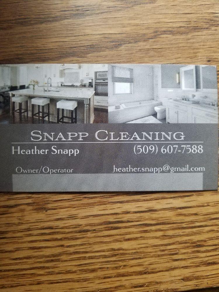 Snapp Cleaning: Ellensburg, WA
