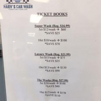 Harv S Car Wash Yelp