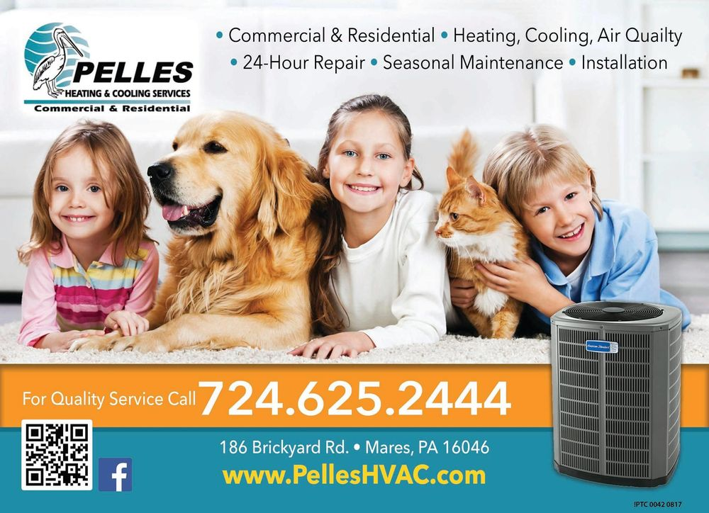 Pelles Heating & Cooling Services: 186 Brickyard Rd, Mars, PA