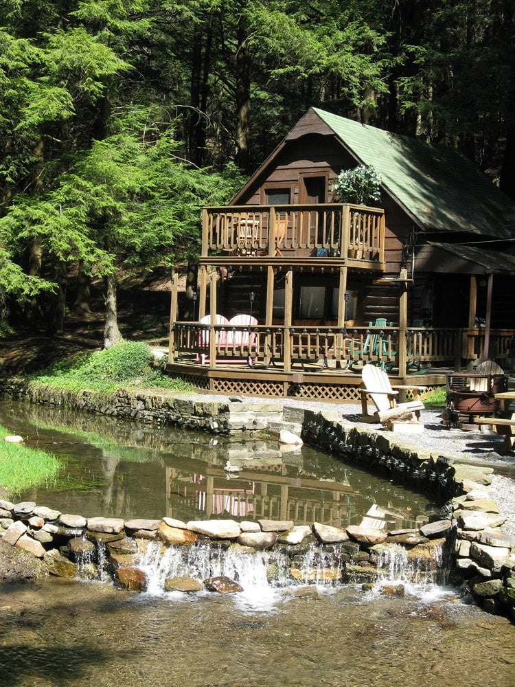 A Cabin By The Stream: 144 Big Moores Run Rd, Coudersport, PA