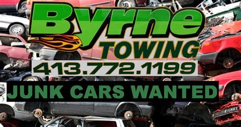 Byrne's Towing Service: 286 Federal St, Greenfield, MA