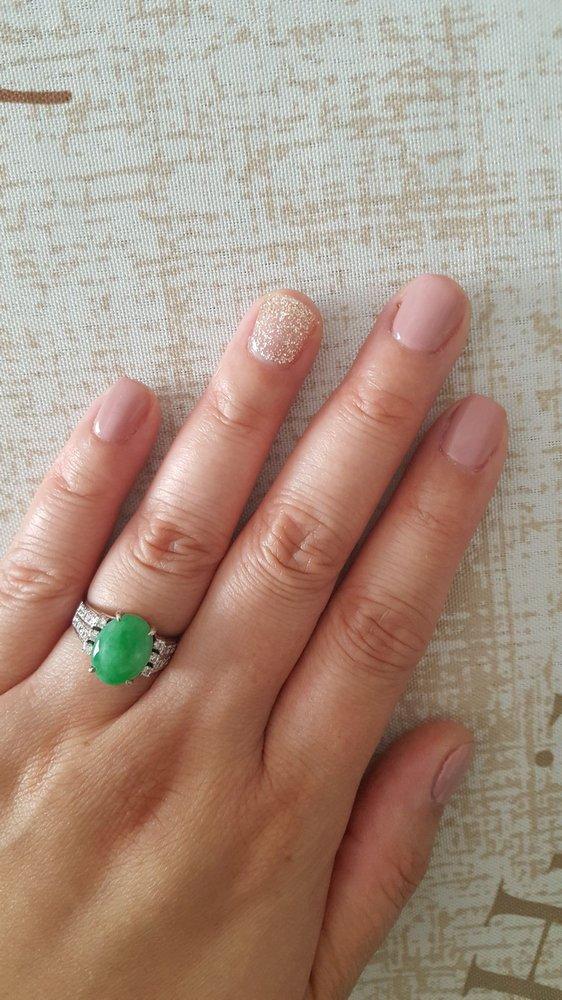 Photo Of Signature Nails Boutique Markham On Canada Nail Colour Rose Gold