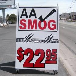 Aa Smog 10 Reviews Smog Check Stations 1280 Greg St Sparks