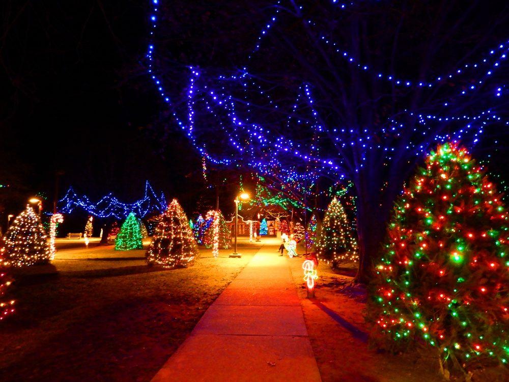 Photo of Rose Tree Park - Media, PA, United States. Rose Tree Park - Rose Tree Park -- Christmas Lights - Yelp