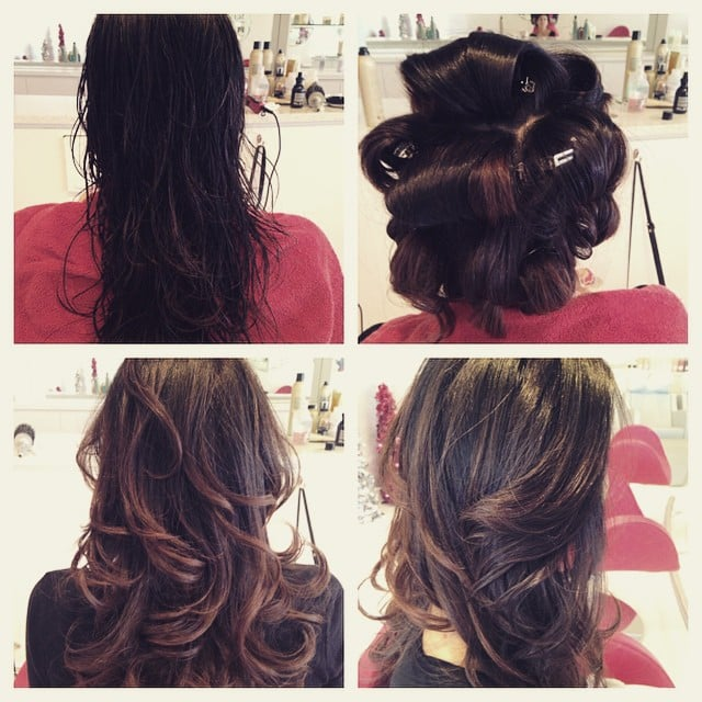 Pin Curl Blow Dry Style Yelp
