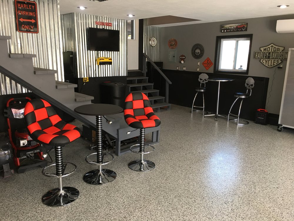 Coastal Garage Floors: 2718 Date Palm Dr, Edgewater, FL